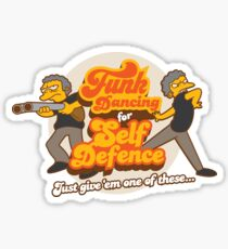 Funk Dancing For Self Defence Sticker