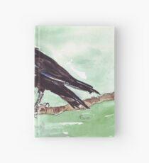 Domino, the Pied Crow (Corvus albus) Hardcover Journal