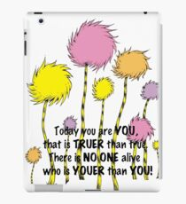 today quotes iPad Case/Skin