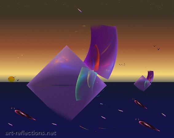 Evening Sail by Ingrid Funk