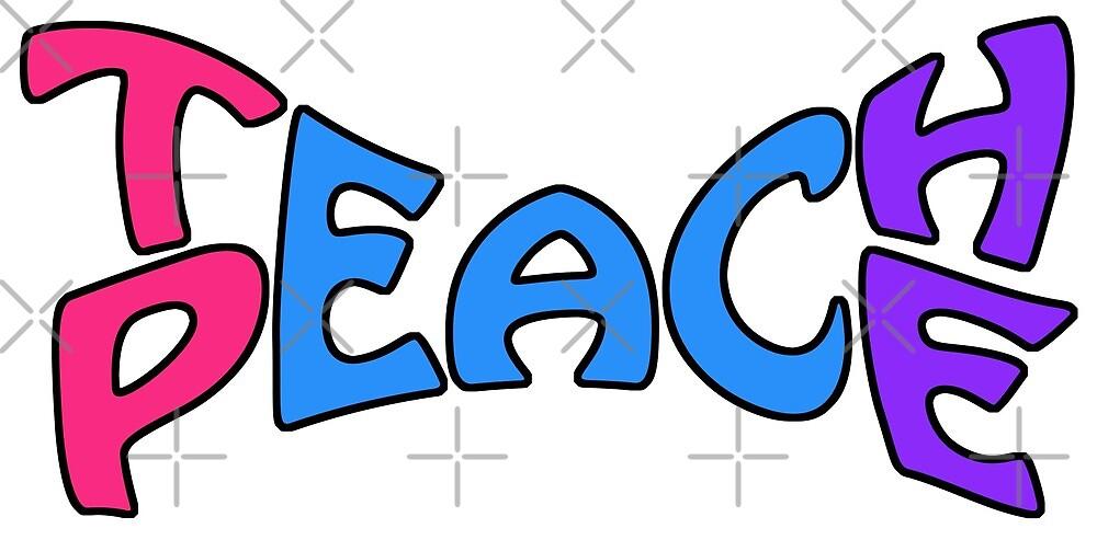 Teach Peace 2 by litmusician