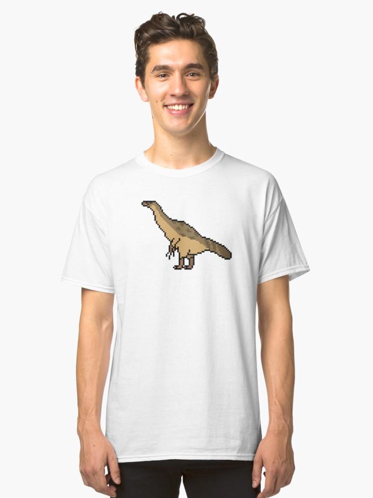 Therizinosaurus cheloniformis Classic T-Shirt Front