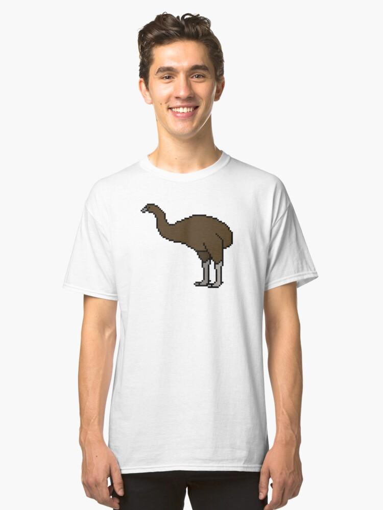 South Island Giant Moa - Dinornis robustus Classic T-Shirt Front