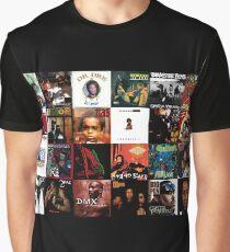 90's Hip Hop Graphic T-Shirt