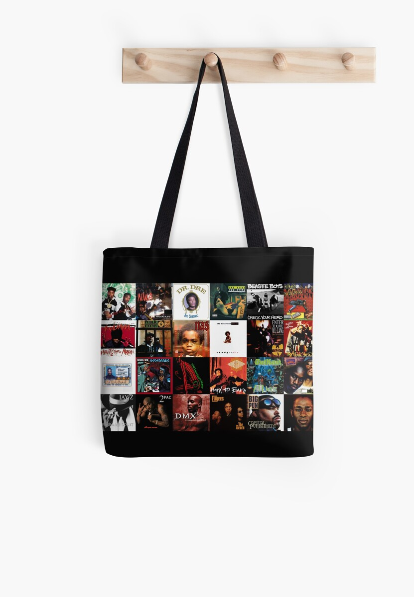 90's Hip Hop Tote Bag