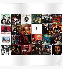 90's Hip Hop Poster
