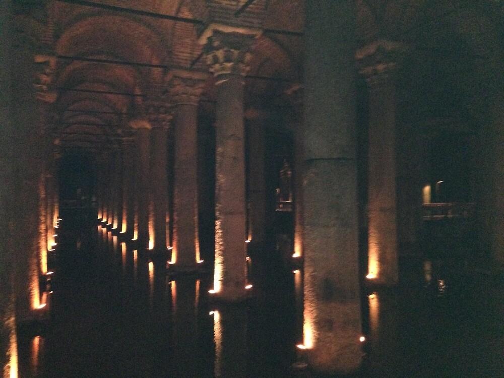 Basilica Cistern of Istanbul by clin10