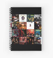 90's Hip Hop Spiral Notebook