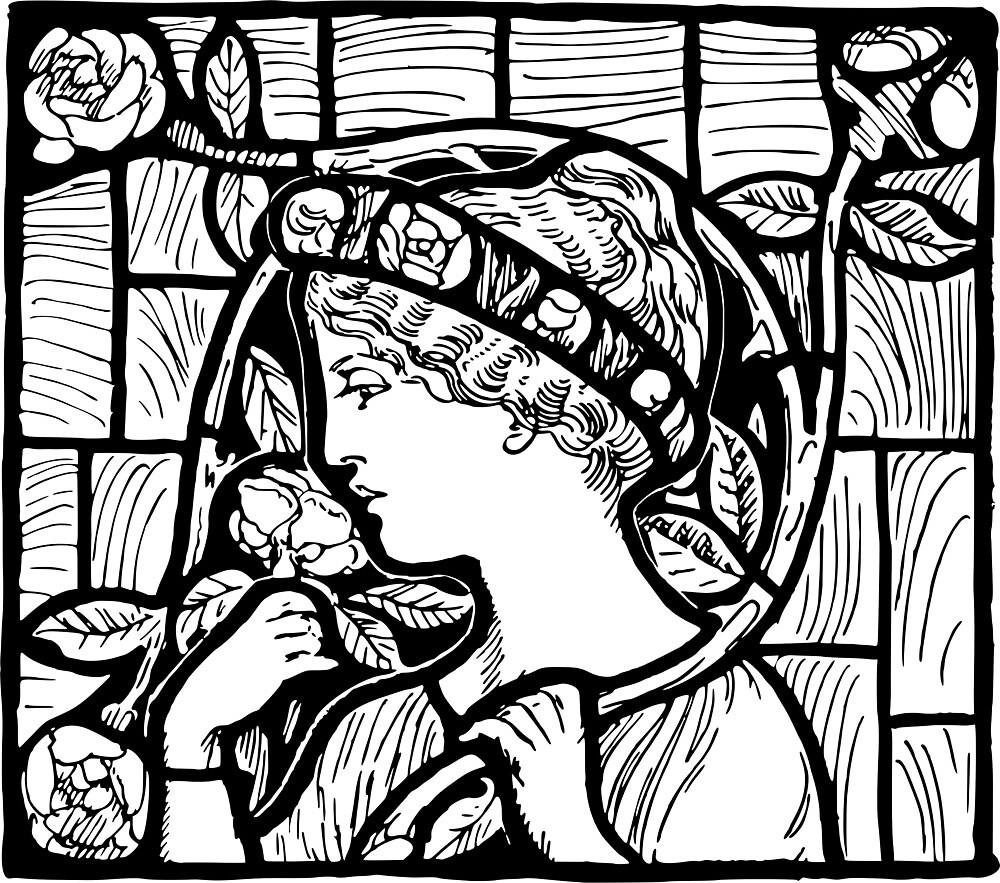 Stained Glass Window by Cygopat