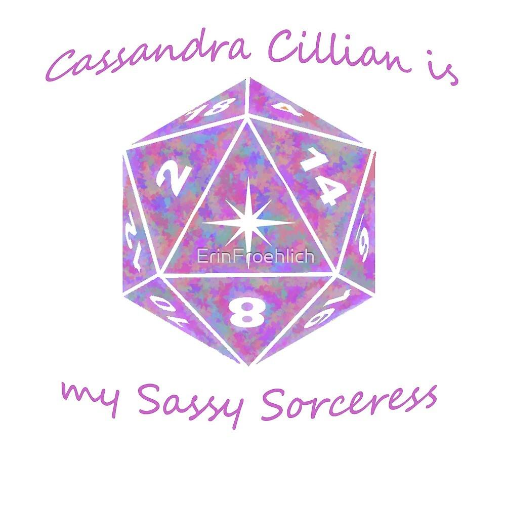Cassandra the Sorceress  by ErinFroehlich