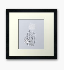 Floral Minded  Framed Print