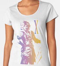 1538018d33bda Tidus FFX Logo color graphic Women s Premium T-Shirt