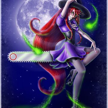 Witchy Grell by Falln