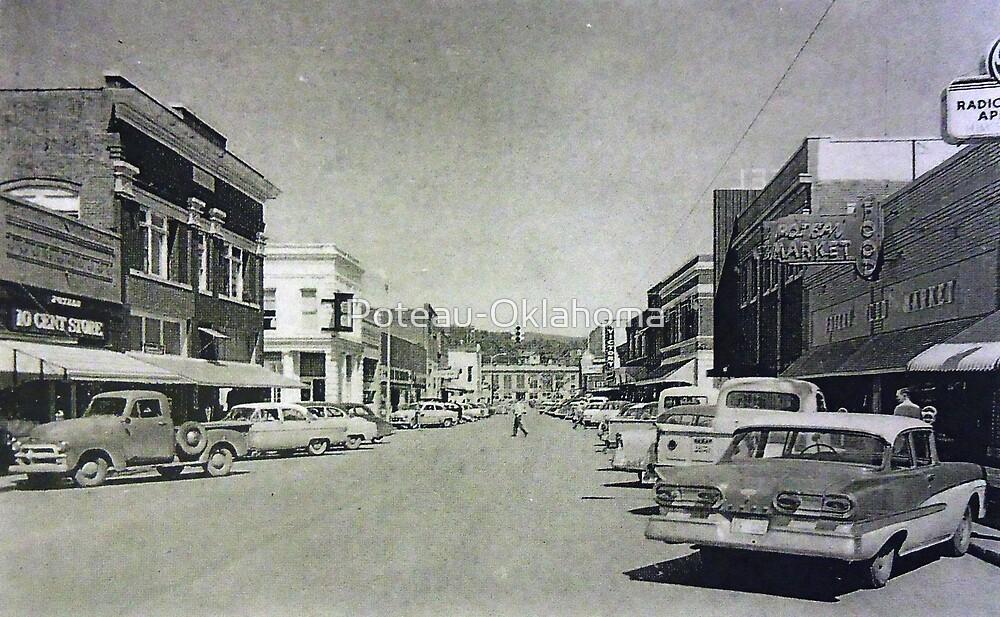 Downtown Poteau by Poteau-Oklahoma