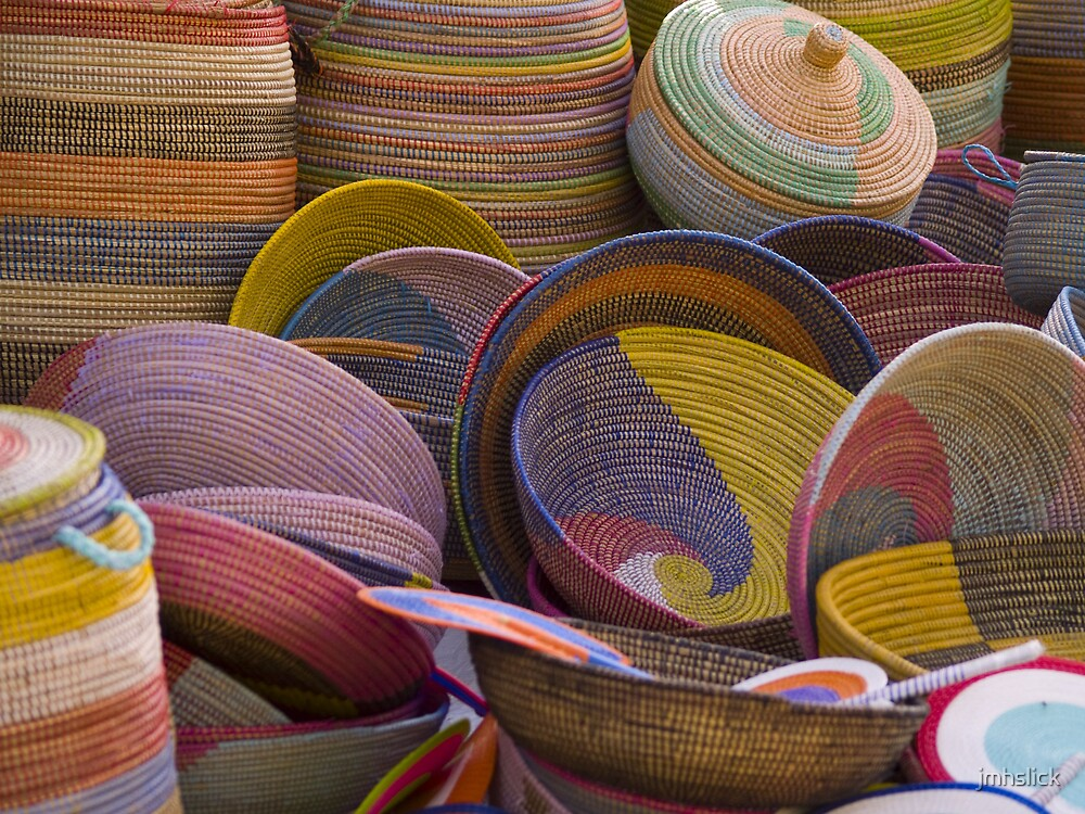 Colorful Baskets by jmhslick