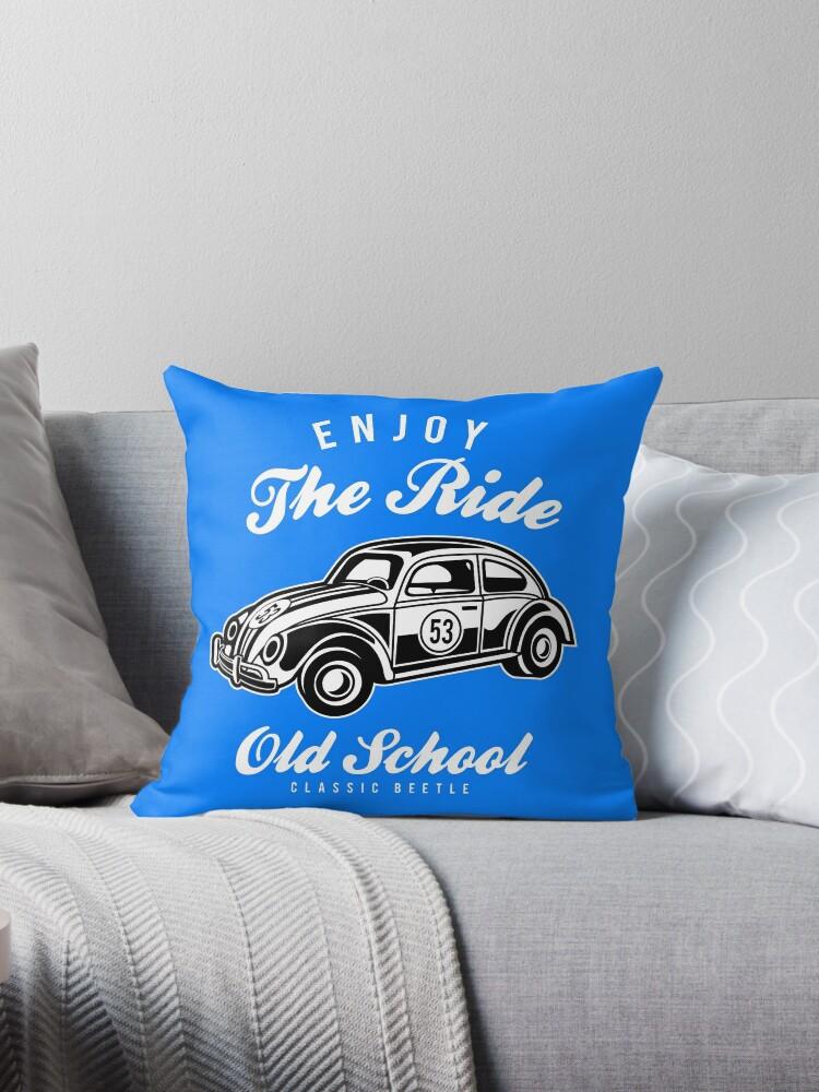 Enjoy The Ride - Old School Classic Beetle by flipper42