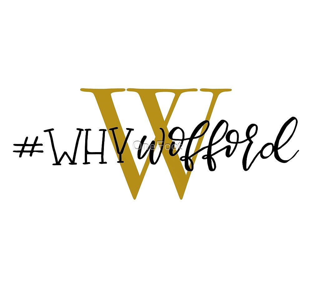 #whywofford by OneFoot