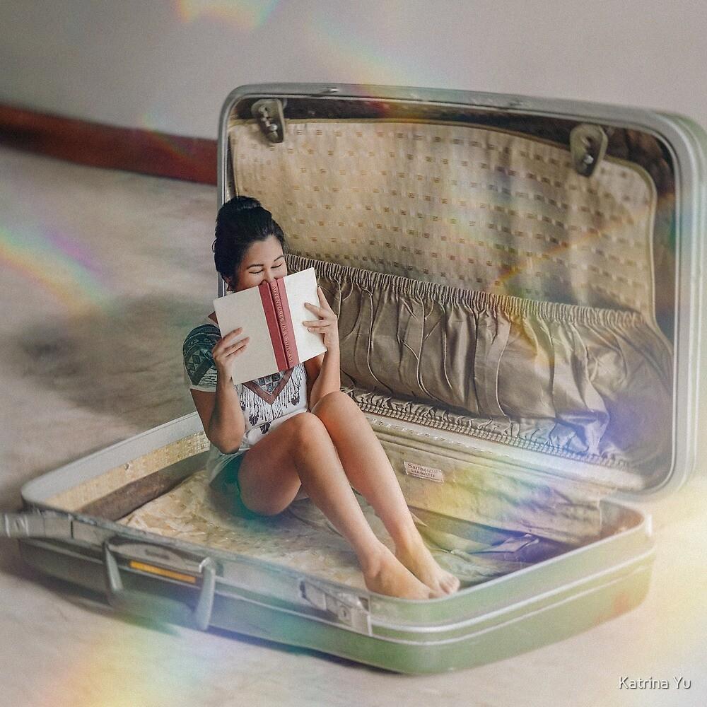 Books Can Take You Anywhere by Katrina Yu