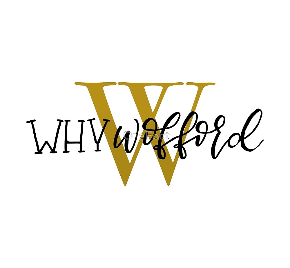 Why Wofford by OneFoot