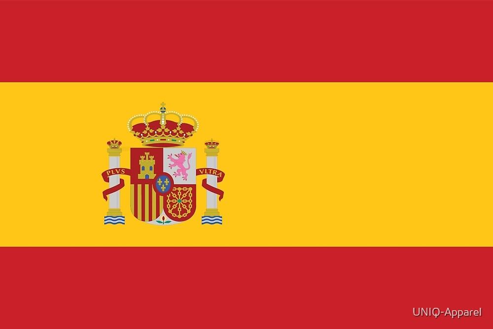 Spain España Football National Team Flag • ID-A1 by UNIQ-Apparel