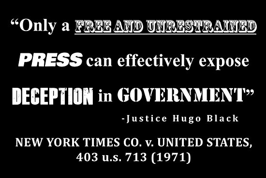 Free Press Case Law Quote White Lettering Transparent Background by allhistory