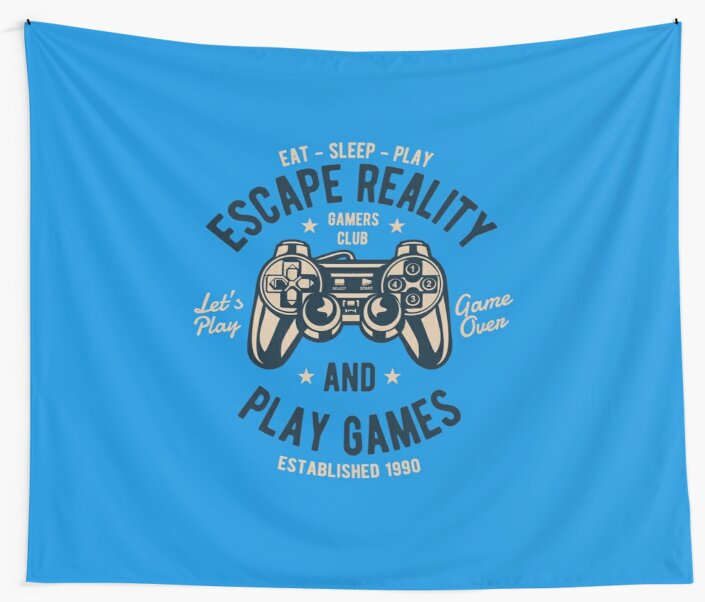 Escape Reality And Play Games by flipper42