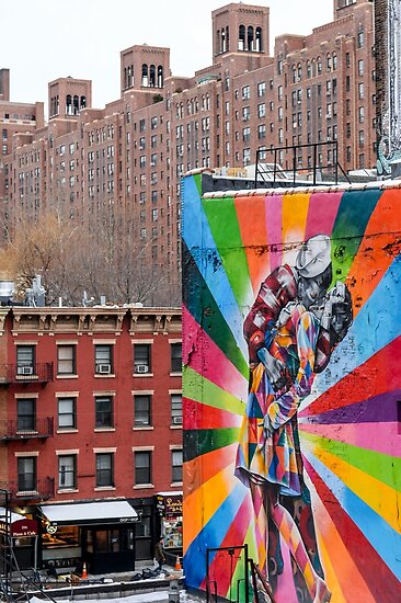 Great street art of NYC by Roger  Mackertich
