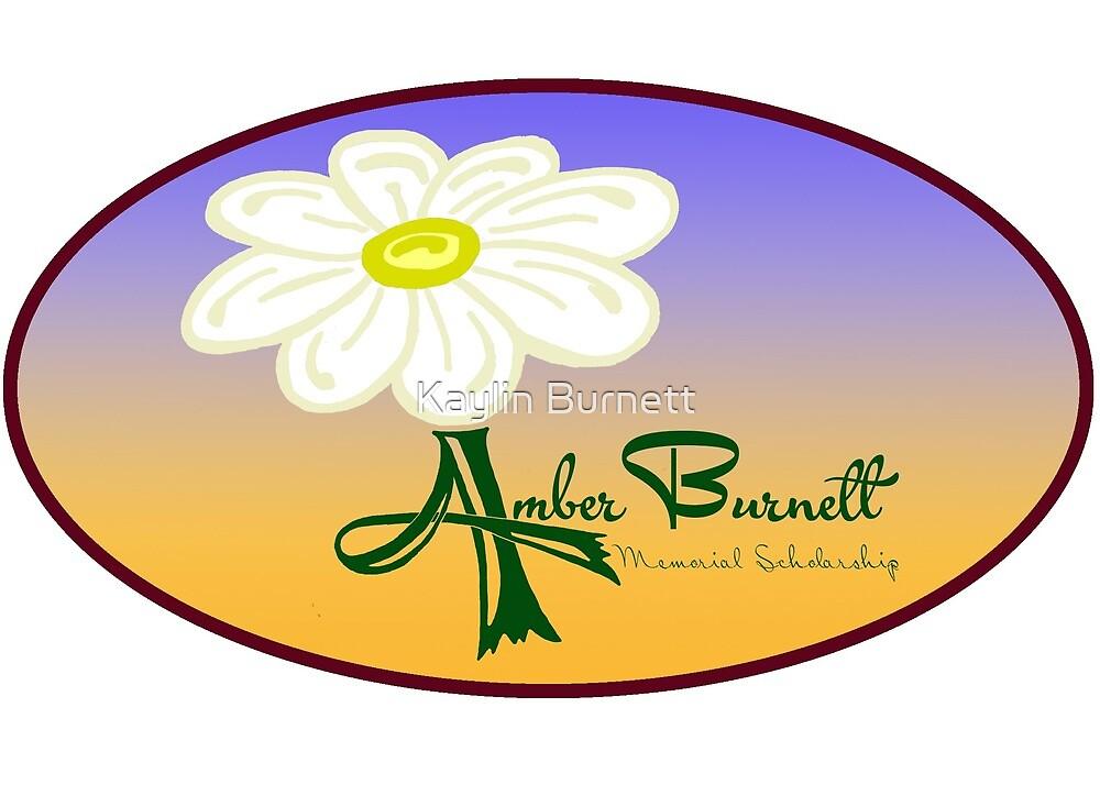 Amber Burnet Memorial Scholarship Logo by Kaylin Burnett