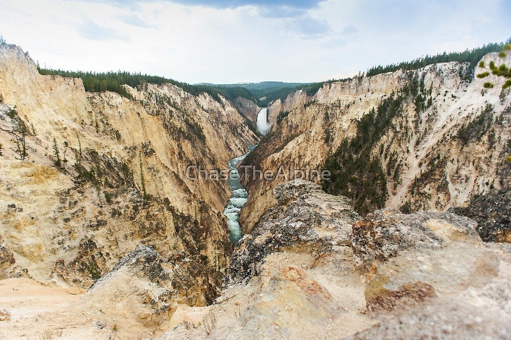 Artist Point, Yellowstone National Park by ChaseTheAlpine