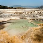 Mammoth Hot Springs  by ChaseTheAlpine