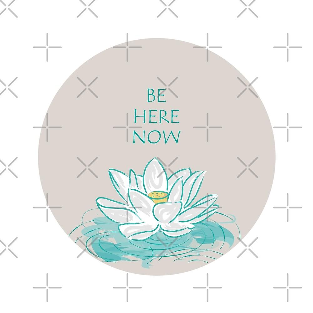 Be Here Now Lotus by sedvona