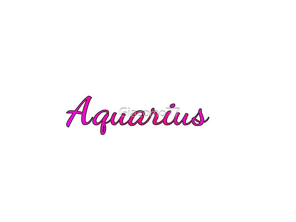 Aquarius by Giacomo77
