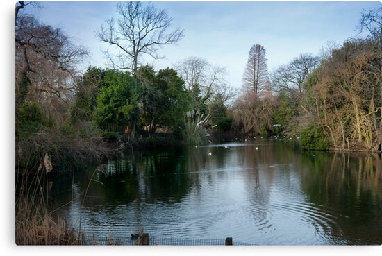 The Lake at Dulwich Park London #2 by DonDavisUK