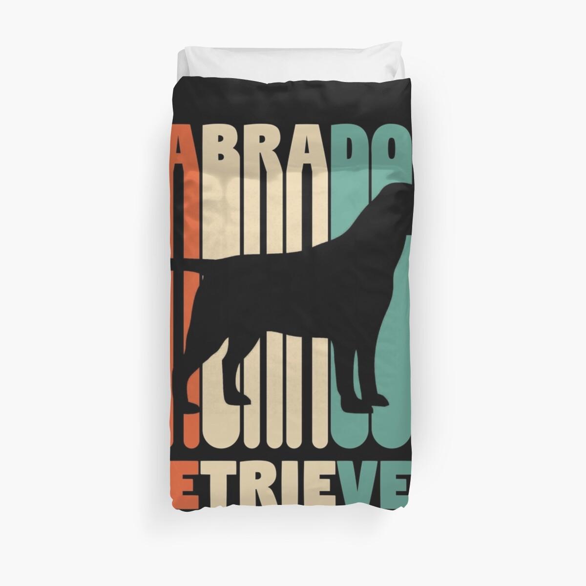 «Camiseta Vintage Labrador Regalo Retro Labrador» de davdmark