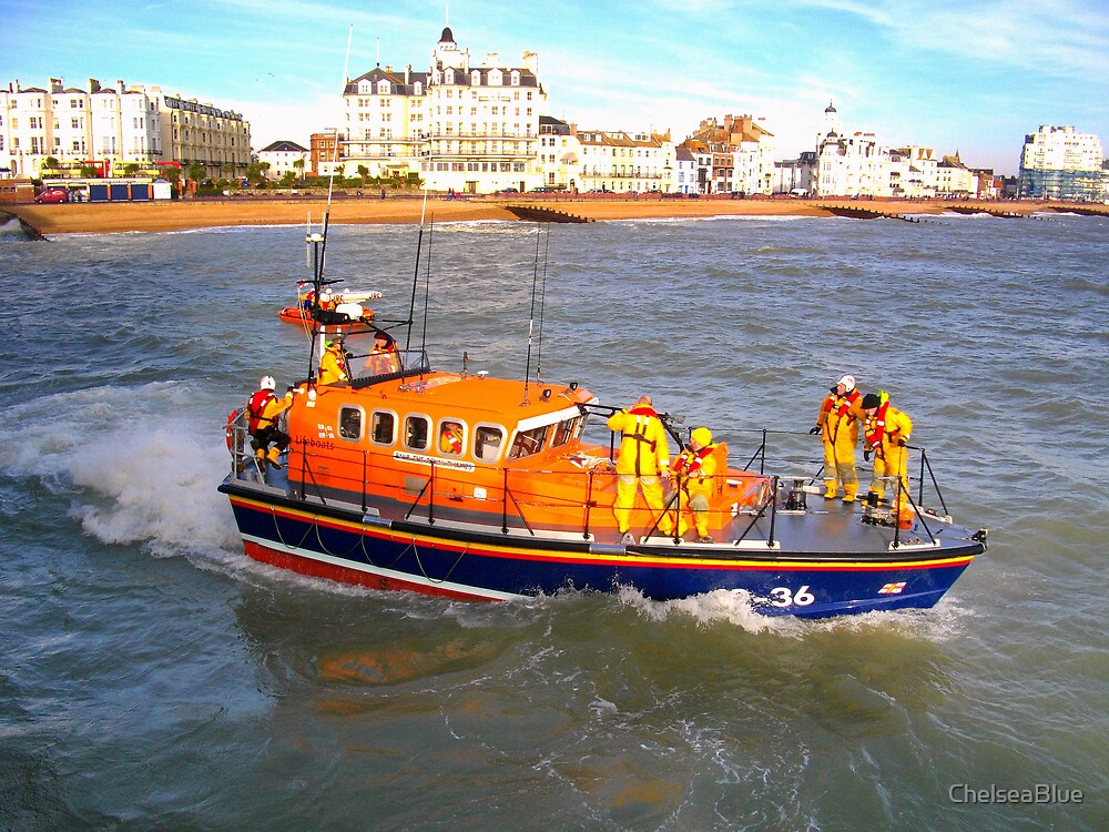 Eastbourne Lifeboat by ChelseaBlue