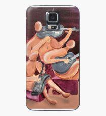 Jazz Trio Case/Skin for Samsung Galaxy