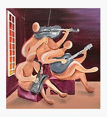 Jazz Trio Photographic Print