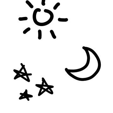 Sun Moon Star by Sako-san