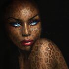 Blue Eyes Leopard by AngieBraun