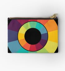 Complementary Colour Wheel Zipper Pouch