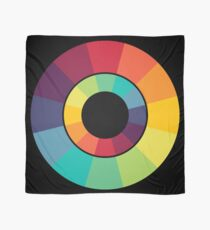 Complementary Colour Wheel Scarf