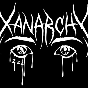 Lil Xan Anarchy Merchandise by PatrickCobb