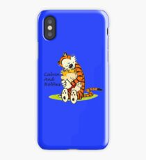 Calvin And Hobbes HUG iPhone Case