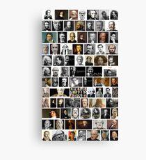 Famous philosophers, #Famous, #philosophers, #FamousPhilosophers, #Philosophy, #philosopher, #FamousPhilosopher Canvas Print
