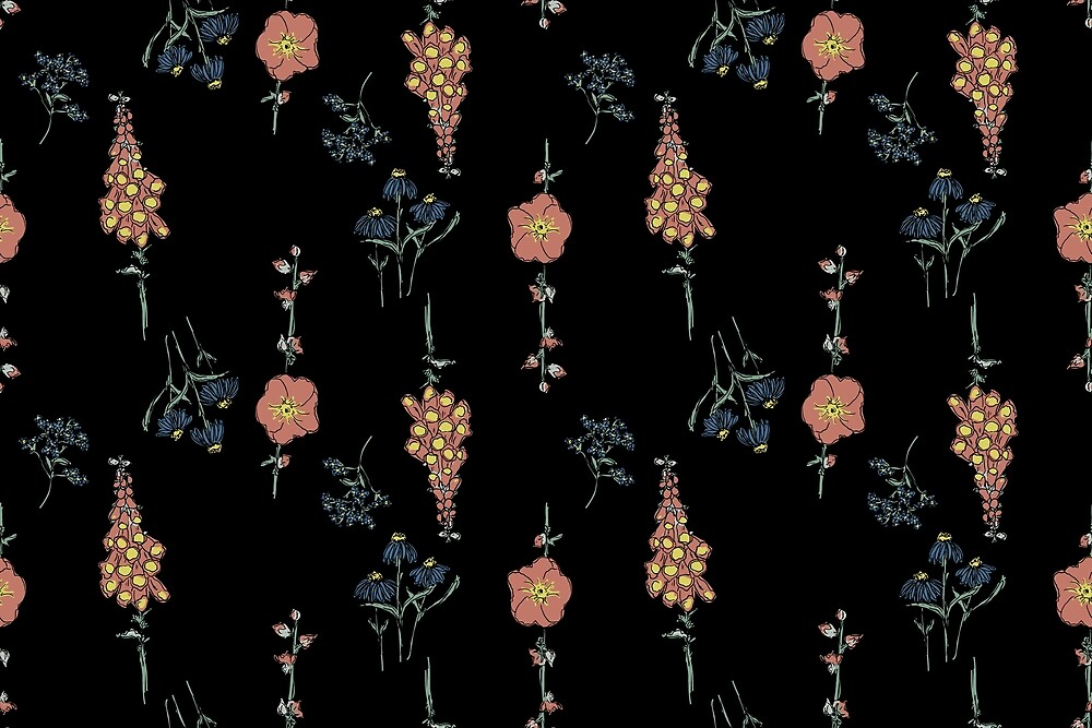 floral rain by nestgezwitscher