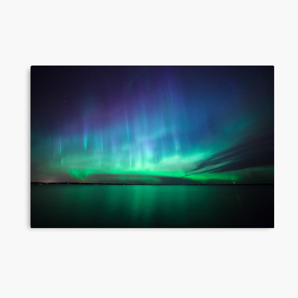 Schöne Nordlichter Leinwanddruck
