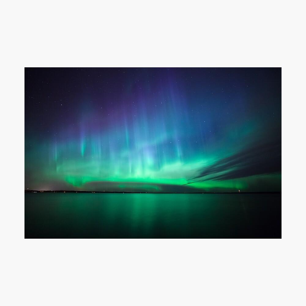 Schöne Nordlichter Fotodruck
