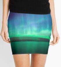 Beautiful northern lights Mini Skirt