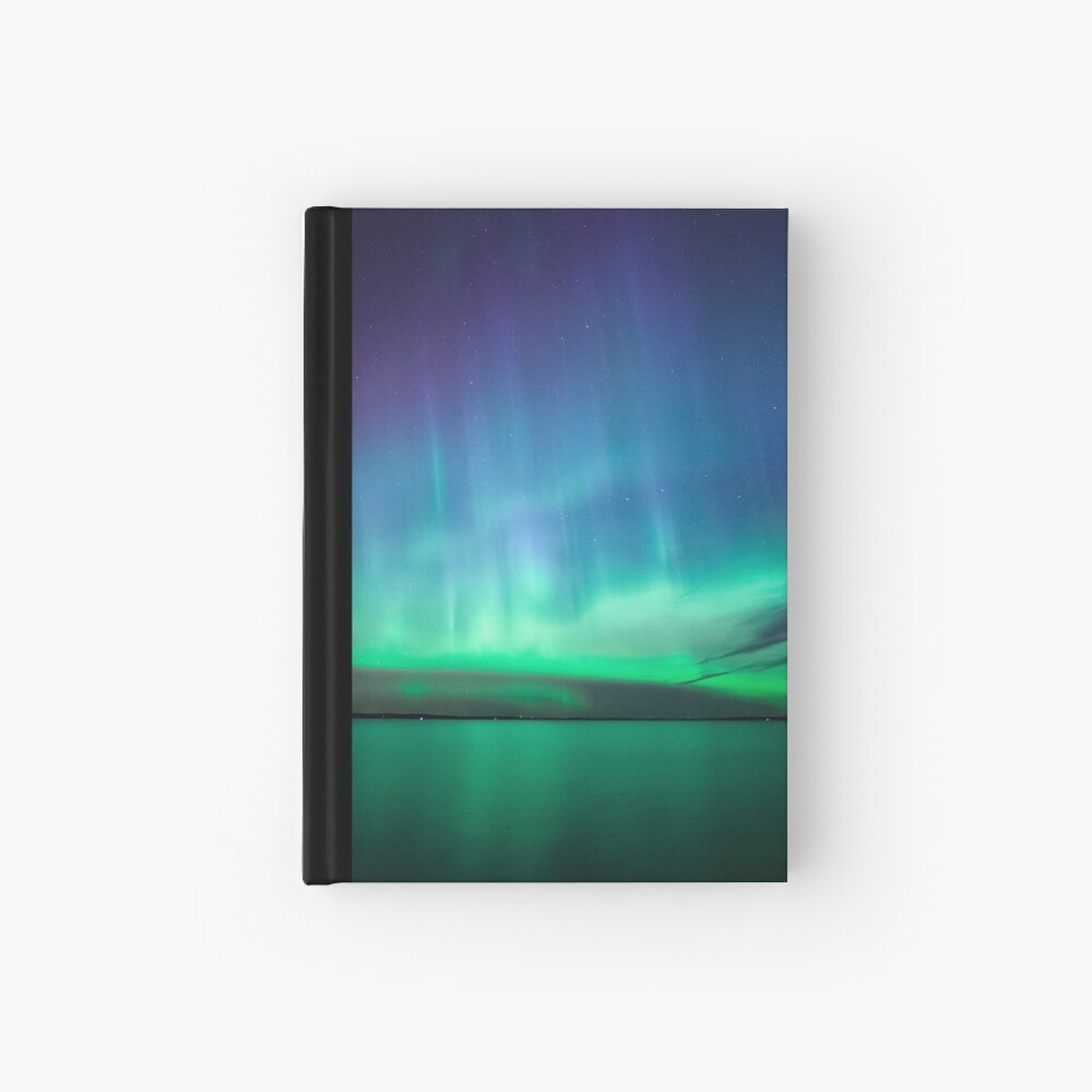 Schöne Nordlichter Notizbuch
