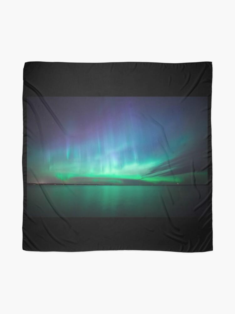Alternative Ansicht von Schöne Nordlichter Tuch